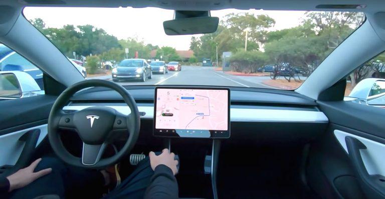 Tesla full self driving fsd elon musk the tech infinite