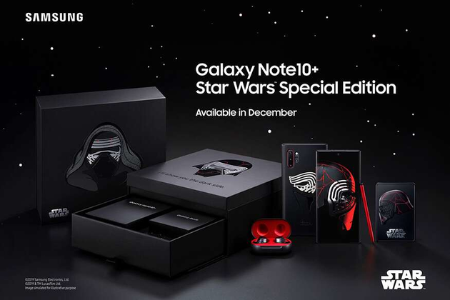 Photo of Samsung Featured Galaxy Note 10+ Star Wars Edition