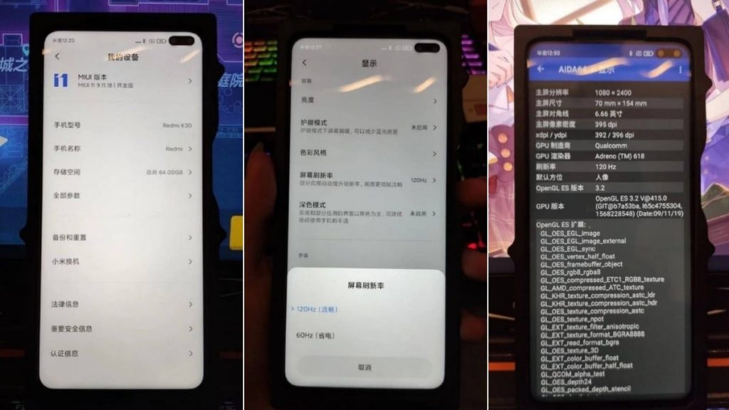 redmi k30 5g leak thetechinfinite