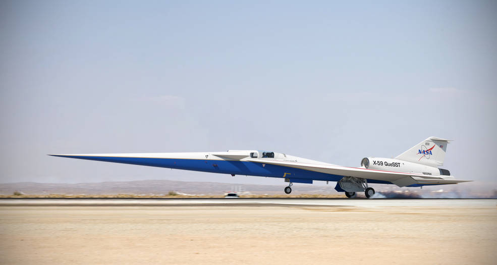 Photo of Supersonic Travel is Getting Closer; NASA X-59 Cleared