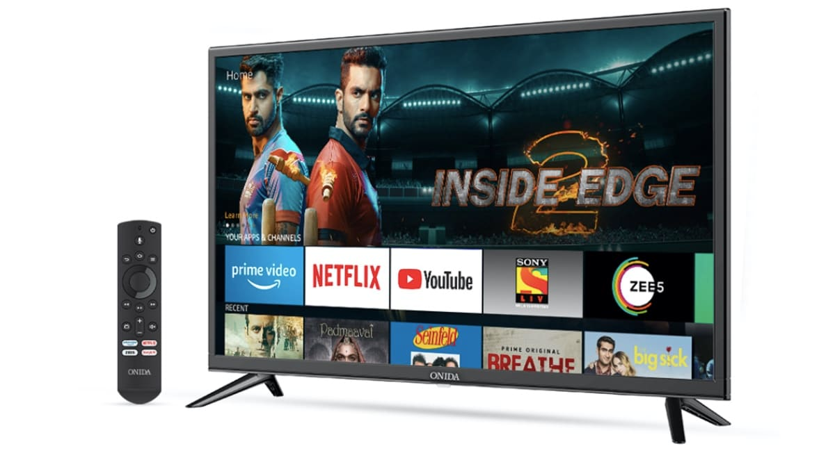 Photo of Amazon Launches Fire TV With Onida