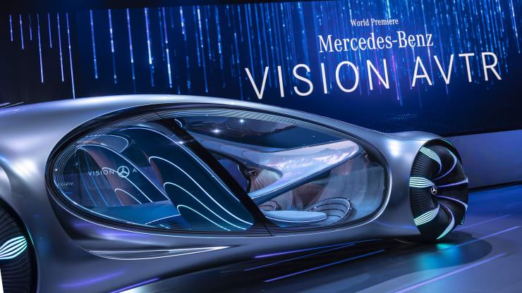 Mercedes-Benz Future Vehicle called Vision AVTR
