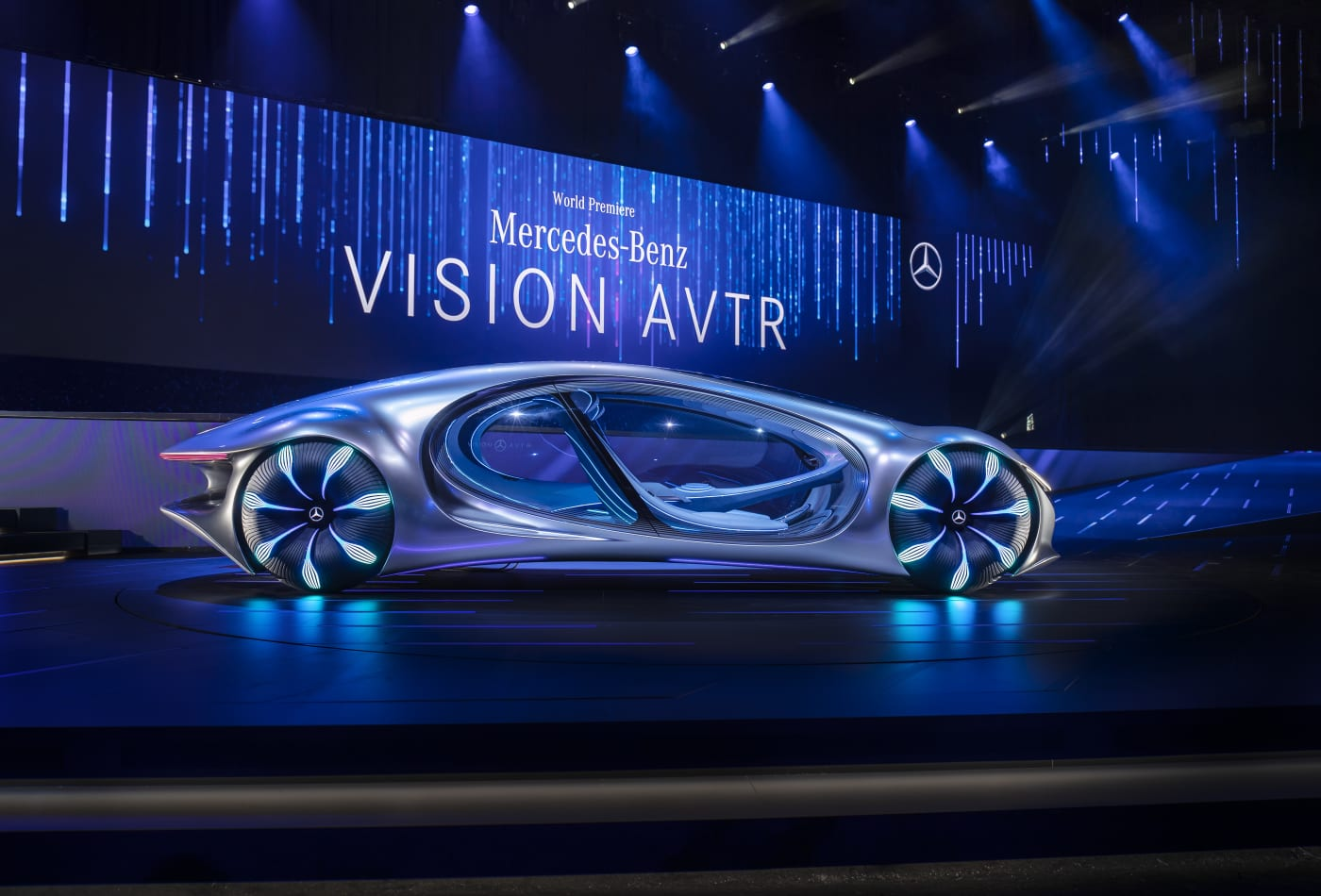 Photo of Mercedes-Benz Future Vehicle called Vision AVTR