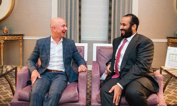 Saudi  Prince Key Role in Hacking  Jeff Bezos Whatsapp