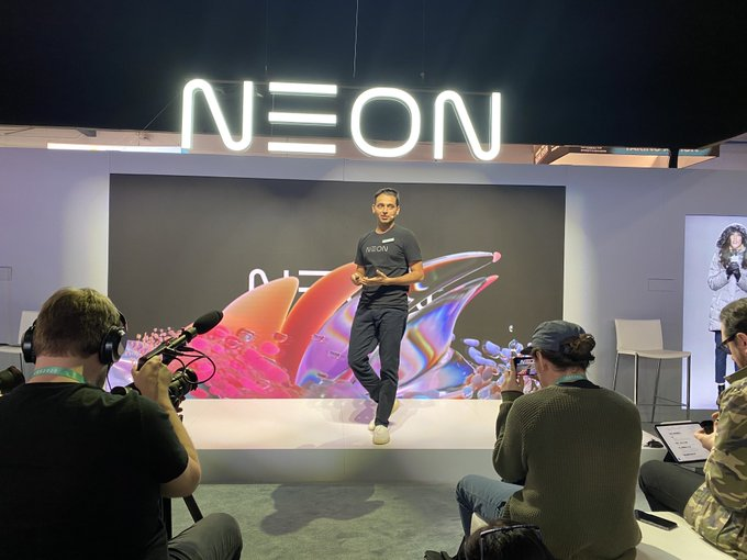 Finally Samsung launched  NEON At CES 2020