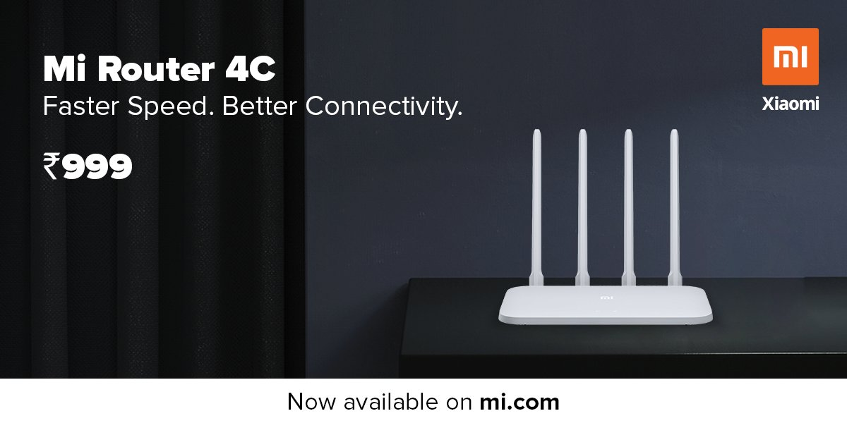 Photo of Xiaomi Back with Mi Router 4C -Launched in India