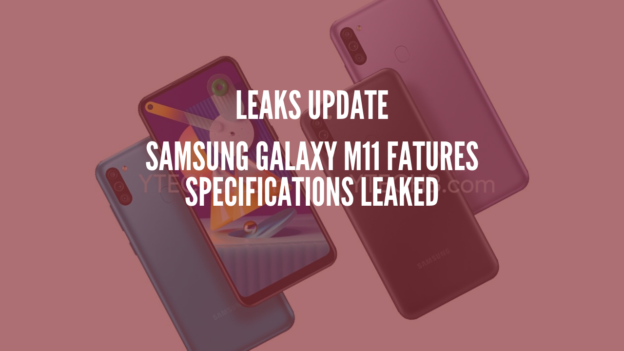 Photo of Samsung Galaxy M11 Features Specifications Leaked