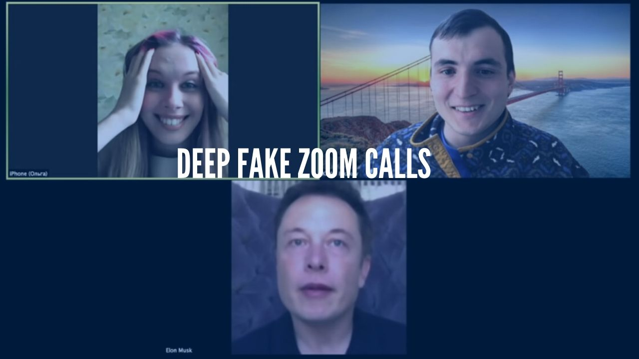 Photo of Deepfake Tool turns you into Elon Musk into Zoom meetings
