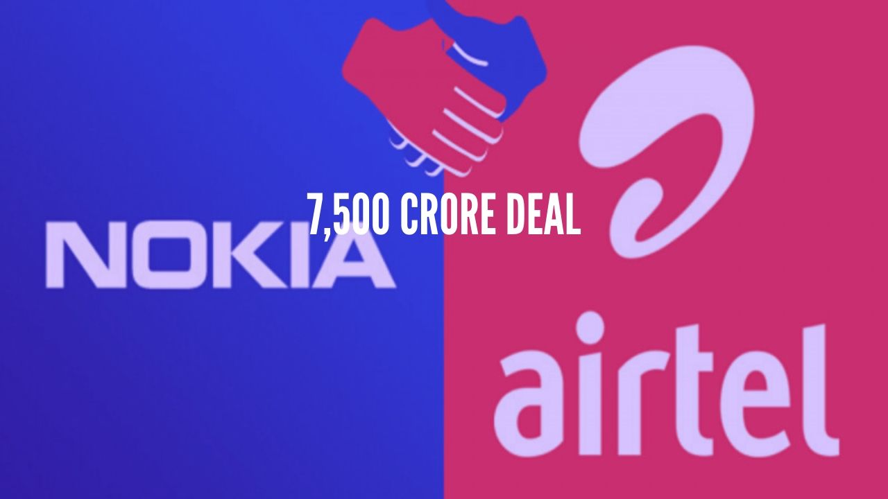 Photo of Airtel Partnered with Nokia For 5G Standards; 7,500 Cr Deal