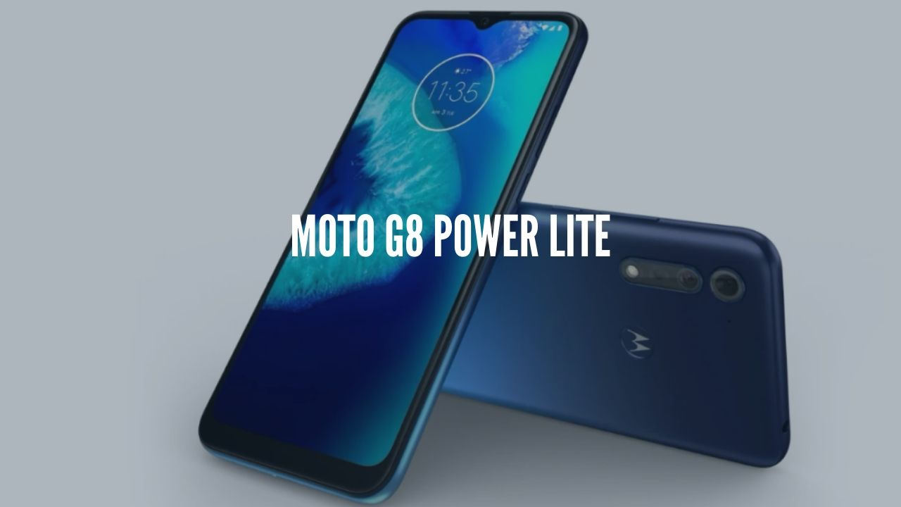 Moto G8 Power Lite Launched with 5,000mAh battery