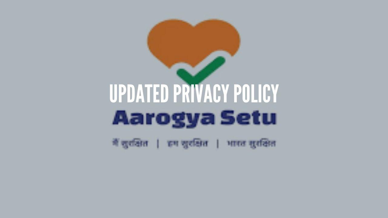 Photo of Arogya Setu Updated Privacy Policy