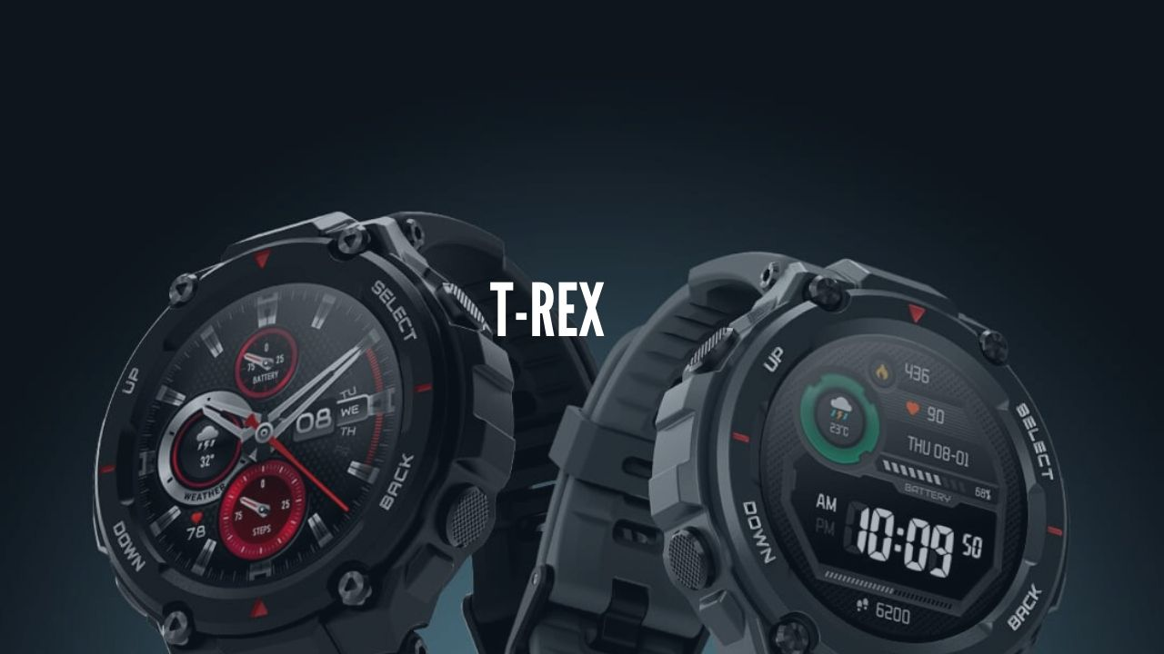 Photo of Amazfit T-Rex Smartwatch Launching in India in middle of June