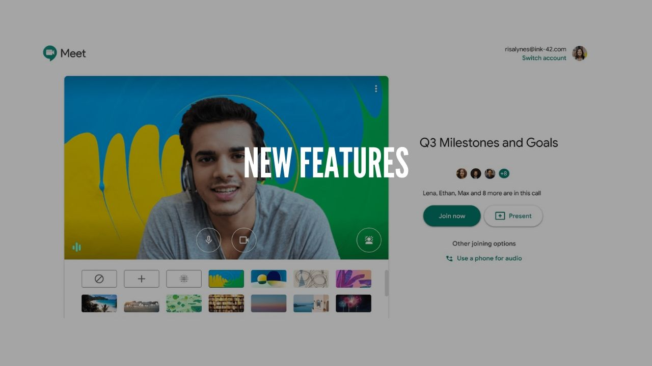Photo of Google Meet is working on custom and blurred backgrounds