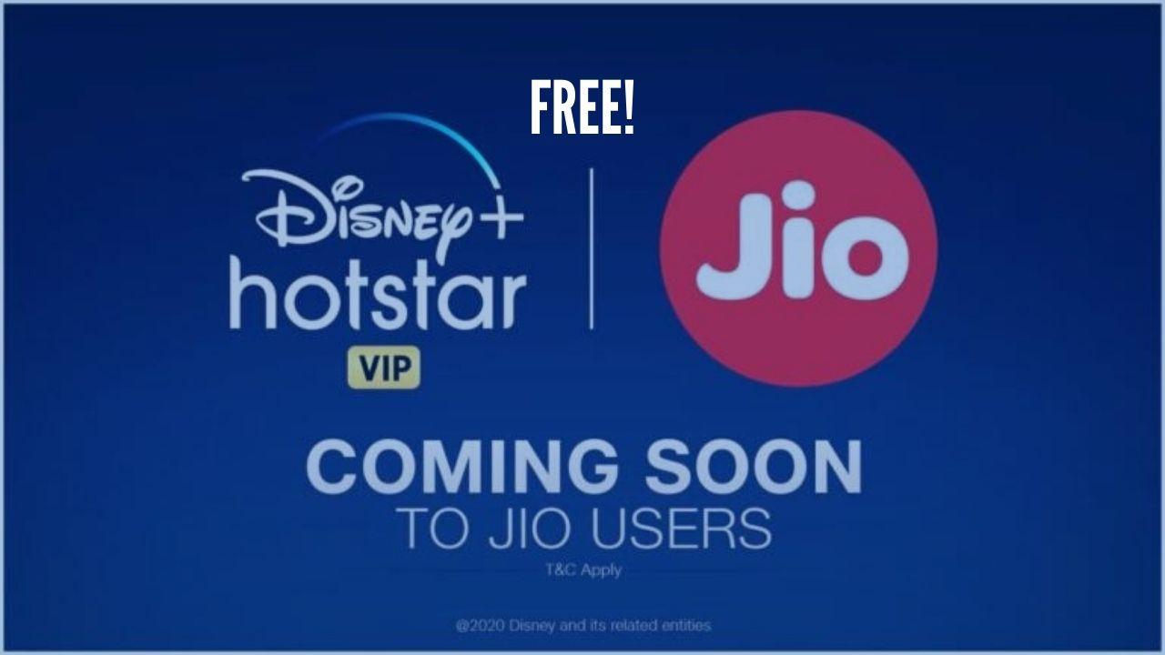 Photo of Jio offers free Hostar + Disney + VIP Subscriptions