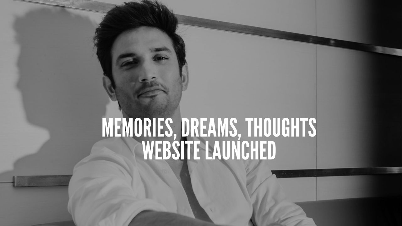 Photo of Sushant Singh's Team updates website with his dreams