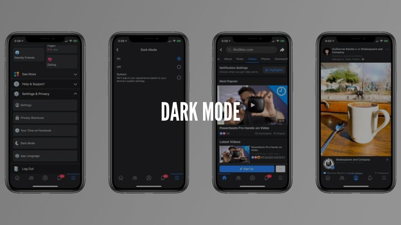 Photo of Facebook is introducing a dark mode for mobile users