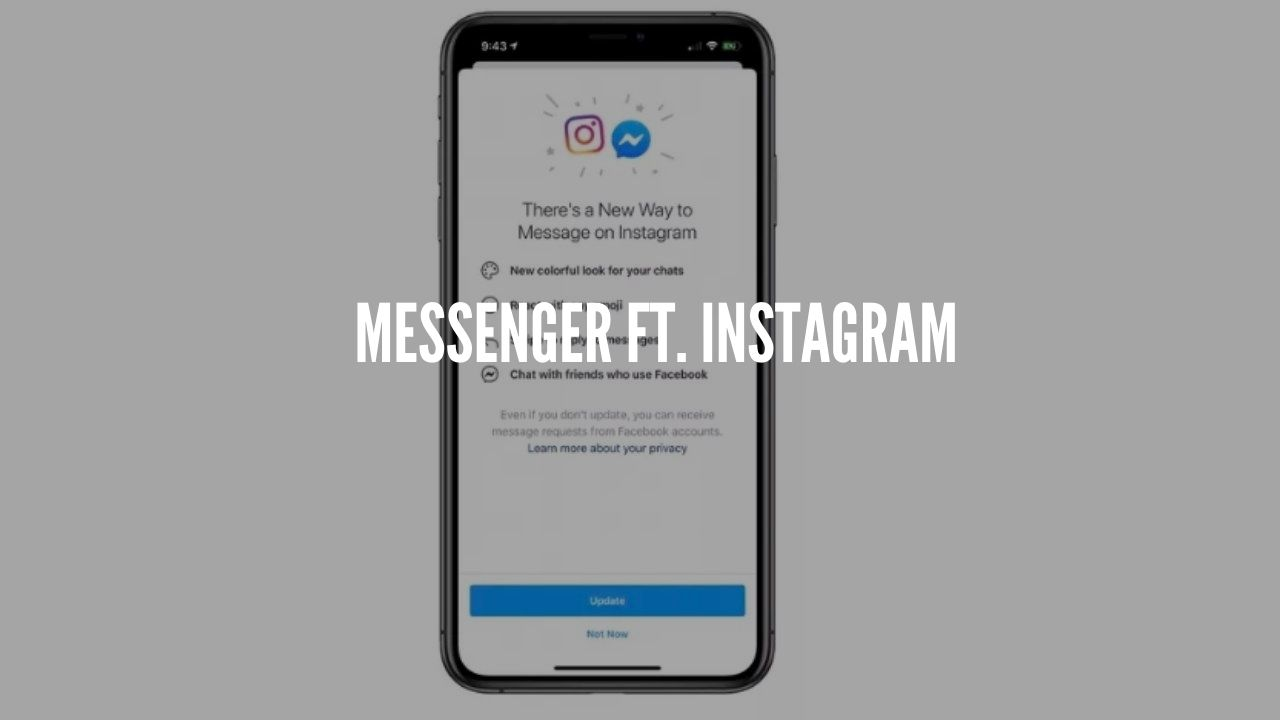 MessEnger Ft. Instagram