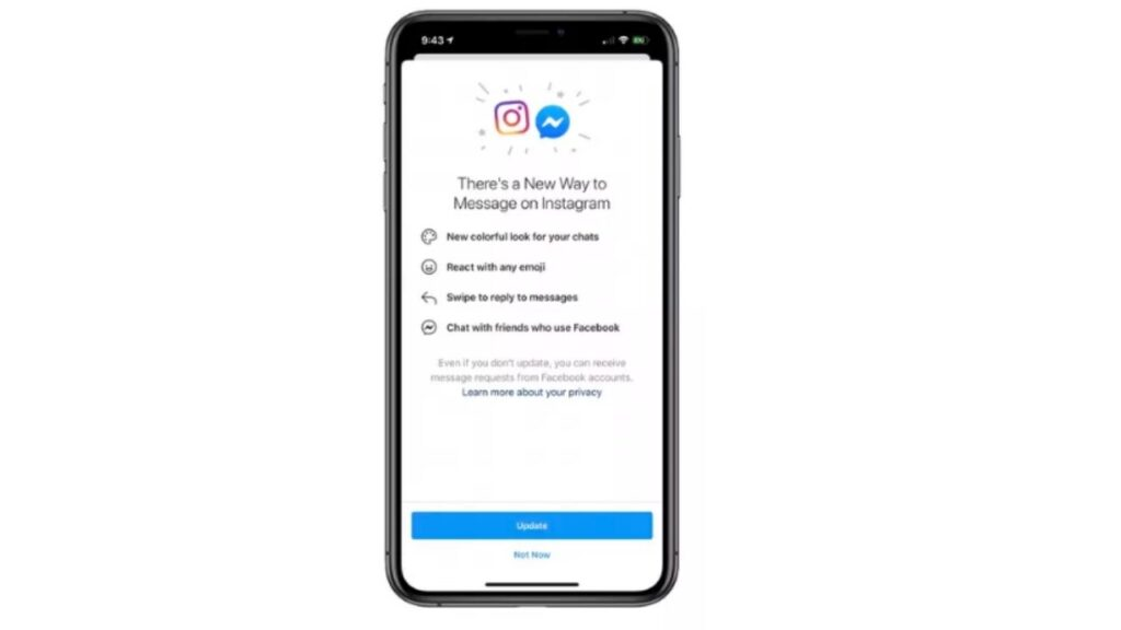 Facebook Begins Merging Messenger And Instagram Chats in The New Update