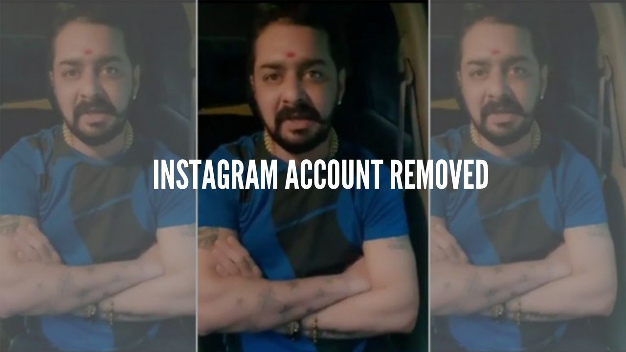 Photo of Just In: Hindustani Bhau's Instagram Account Deleted Due to Hate Speech