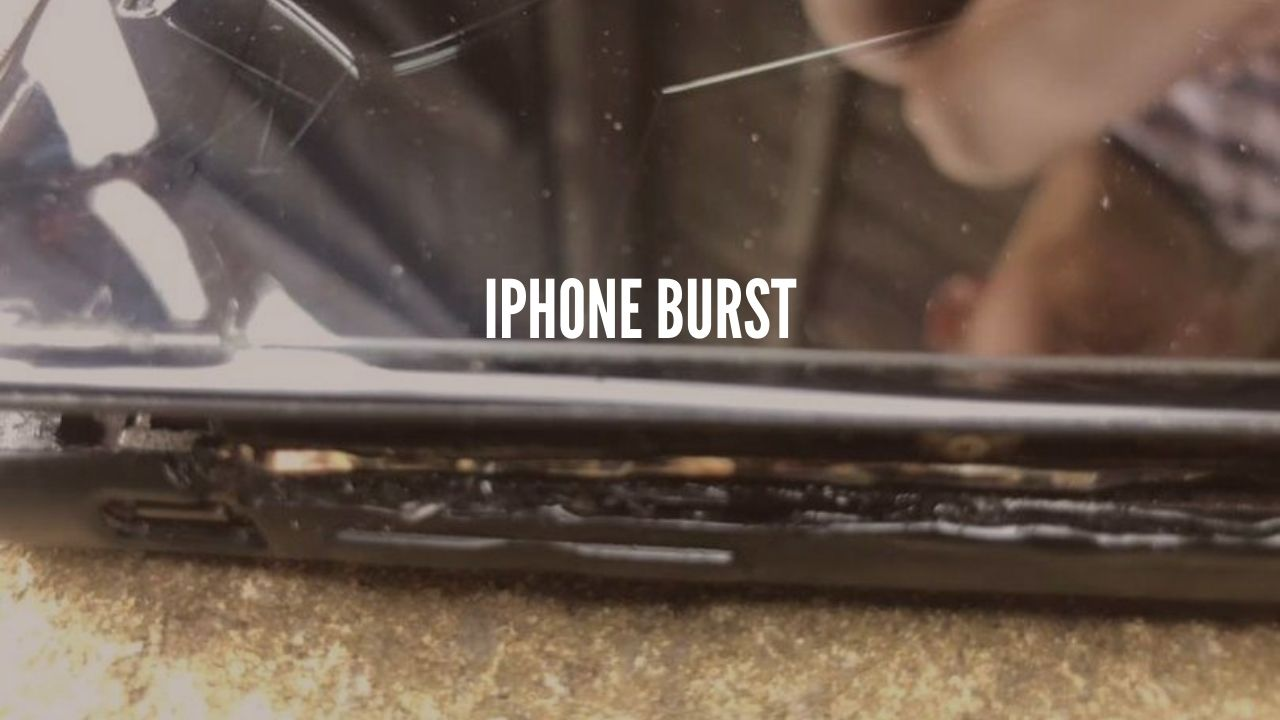 Photo of iPhone Catches  Fire, House filled with smoke, 42yr-old UK  man suffered burns on his hand