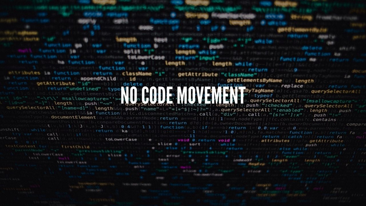 Photo of Will Coding Jobs Exist in the Future? No Code Movement!