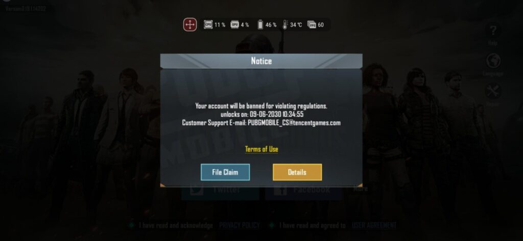 pubg ban glitch