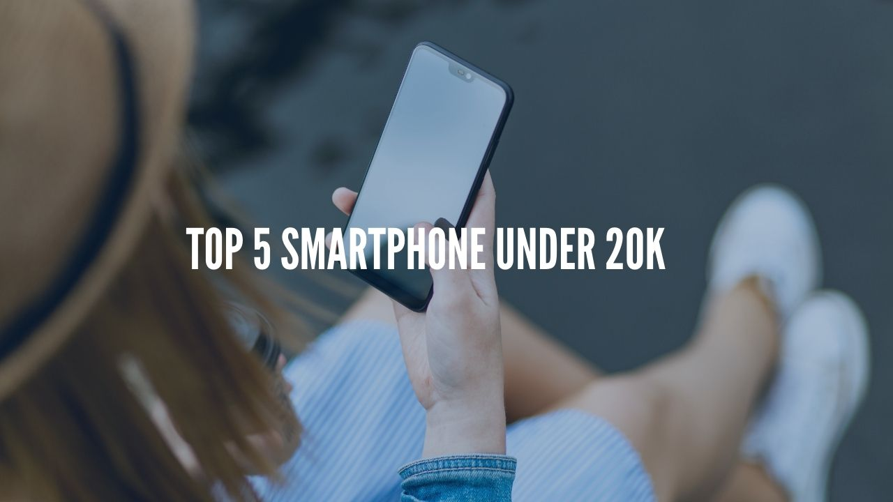 Photo of Top 5 Smartphones Under Rs. 20,000 – September 2020