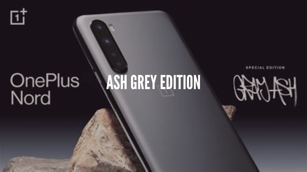 oneplus nord ash grey edition