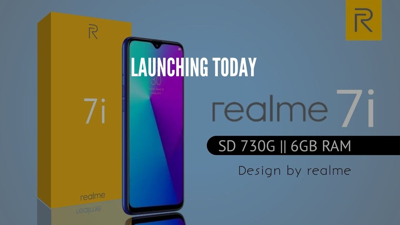 Photo of Realme 7i Launching Today in India