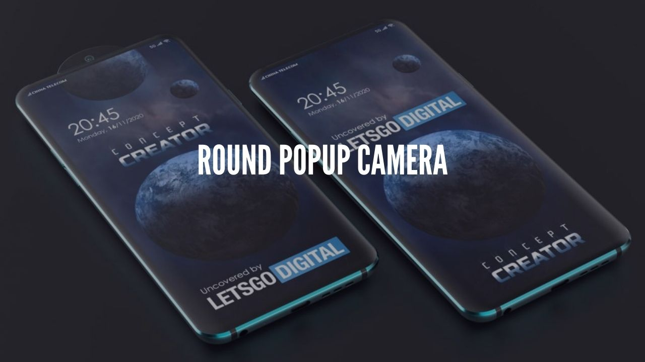 Photo of Oppo Patents a phone with a round pop-up selfie camera