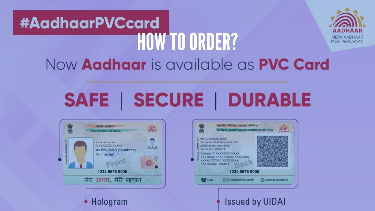 Photo of Everything About Aadhar PVC Card, How to Order?