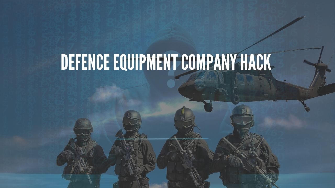 Defence equipment company hack