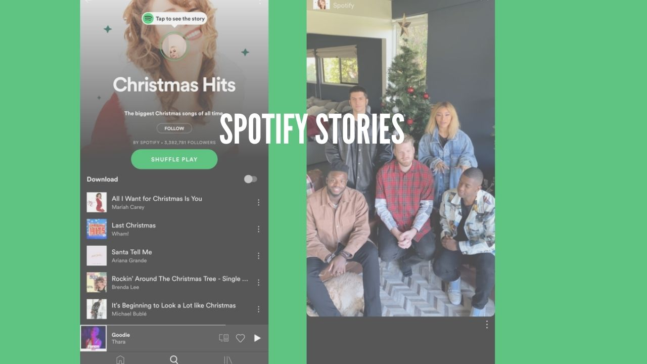 Photo of Spotify is Testing Stories For Playlists