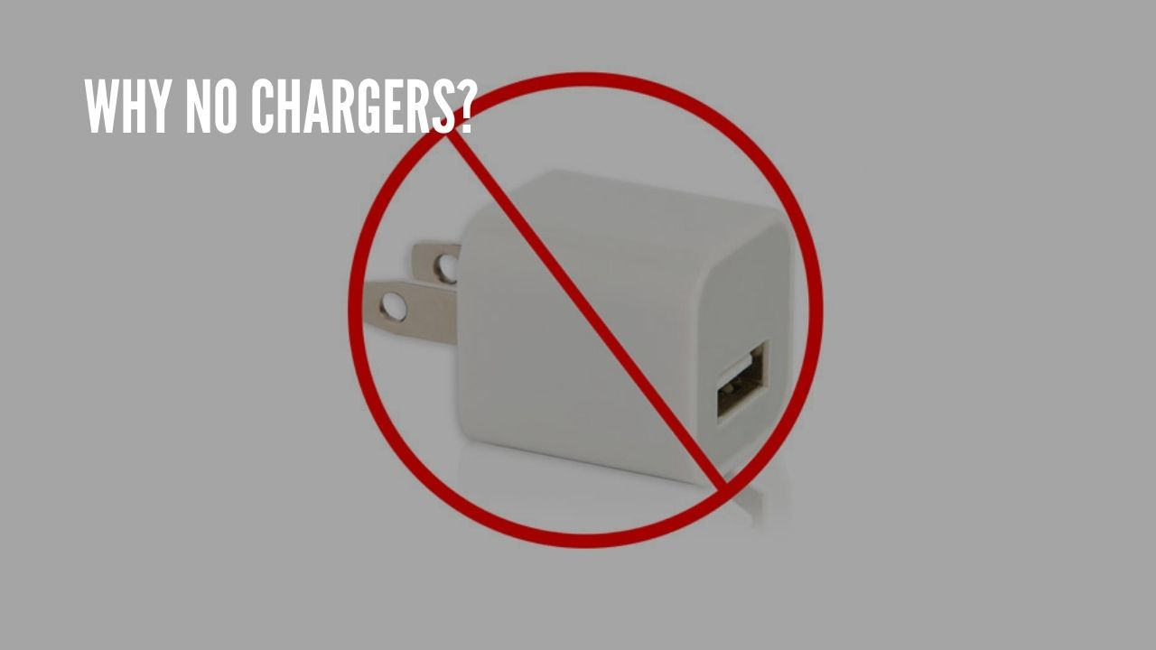 why no chargers?