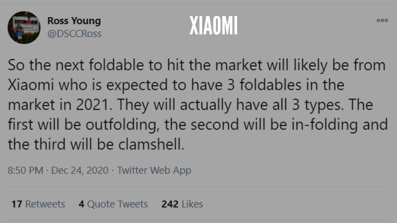 Photo of Xiaomi Tipped to Launch Three Different Type of Foldable Smartphones in 2021