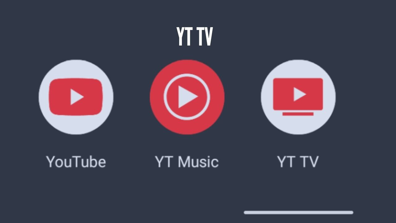 Photo of YouTube TV is now 'YT TV' on Android homescreens