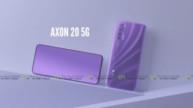 Photo of Axon 20 5G: Worlds First Phone With an Under-Display Camera