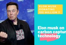 Photo of Elon Musk's $100 million carbon capture XPrize competition starts today