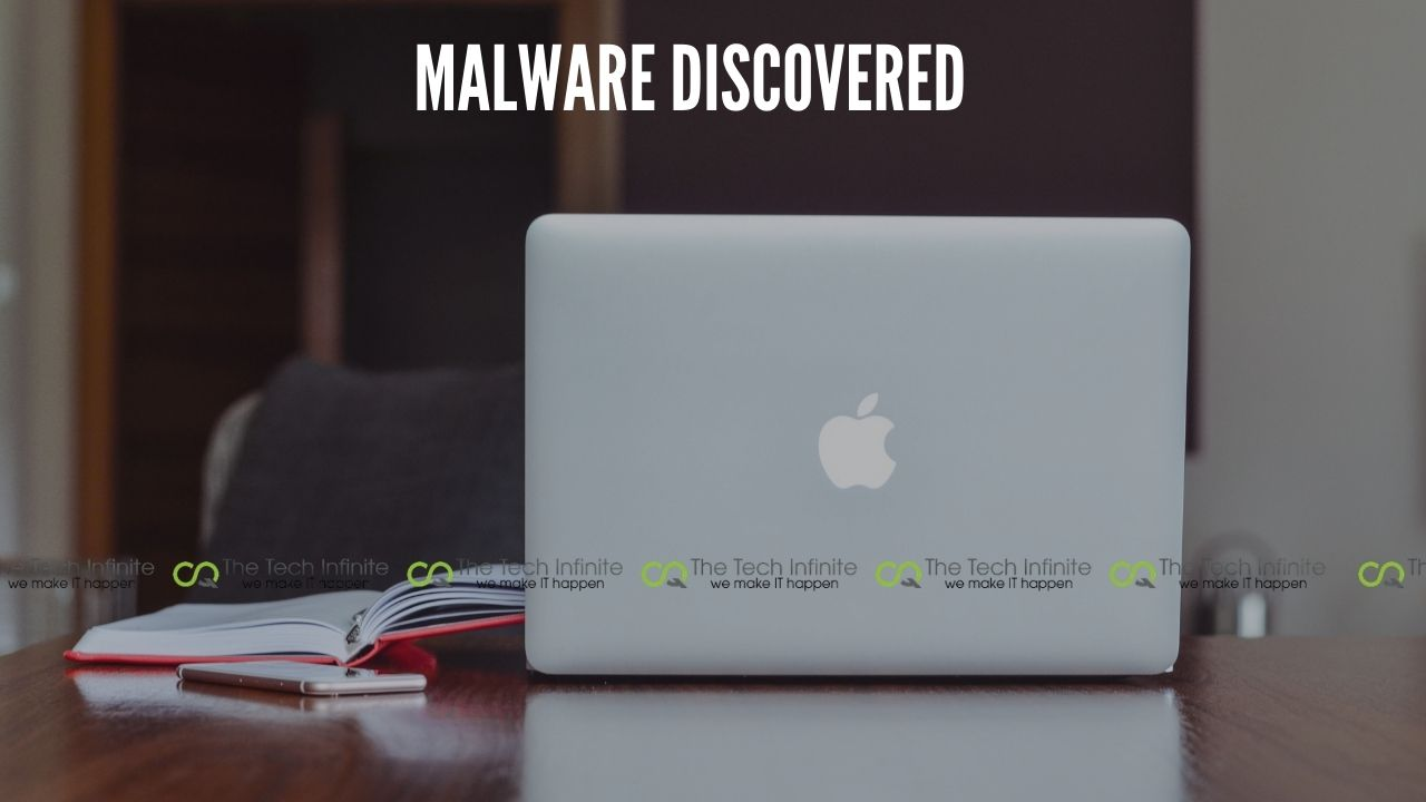 malware discovered