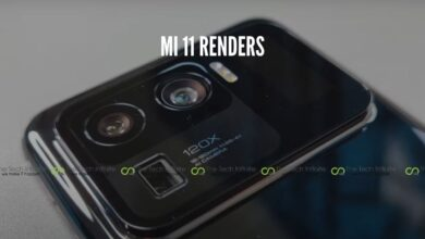 Photo of Mi 11 Ultra Rendering Highlights Smart Secondary Display