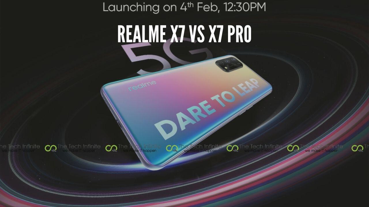 realme x7 vs x7 pro