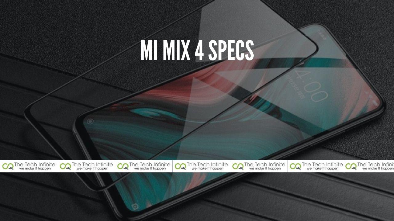 mi mix 4 specs