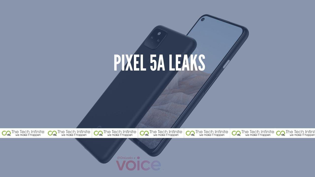 pixel 5a leaks