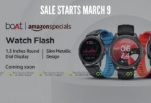 Photo of Boat Watch Flash: Budget Friendly Smartwatch