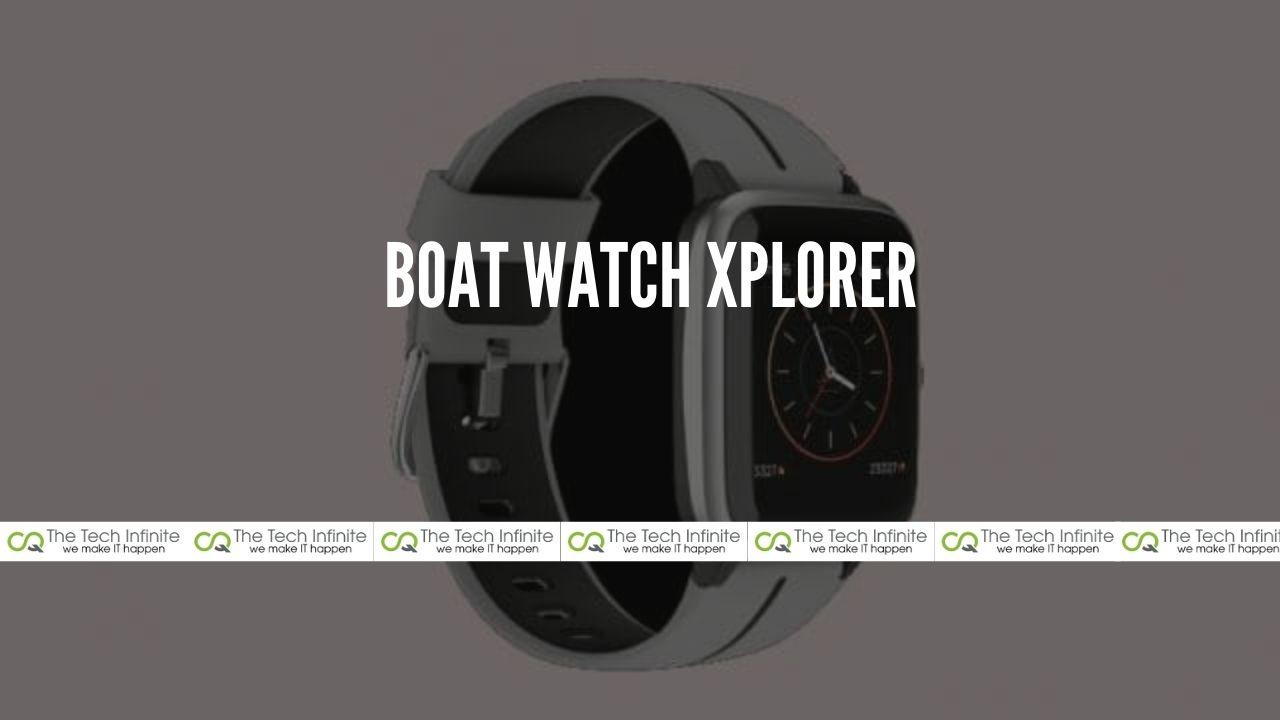 BOAT Watch Xplorer