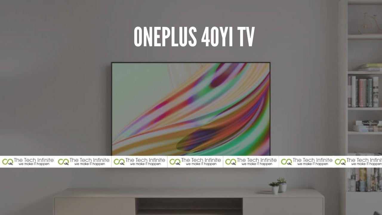 OnePlus 40YI TV